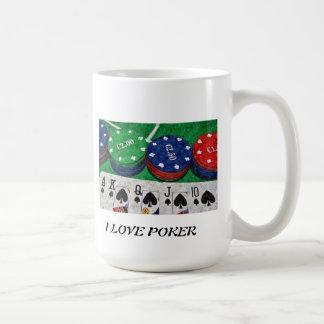 POKER CARDS COFFEE MUG