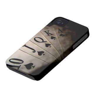 Poker Cards iPhone 4 Carcasa