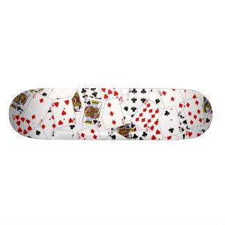 Poker Cards Skateboard