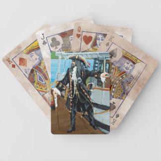 Poker Cards w portrait of Captain Jim Studley