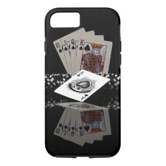 Poker cards with chips iPhone 7 case