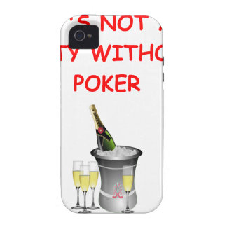 POKER VIBE iPhone 4 COVER