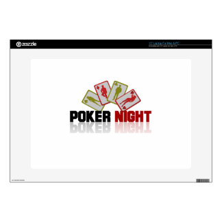 "Poker Casino Decal For 15"" Laptop"