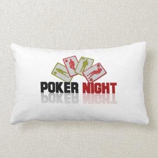 Poker Casino Lumbar Pillow
