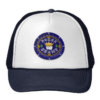 Poker Champ Customized Gifts Trucker Hats