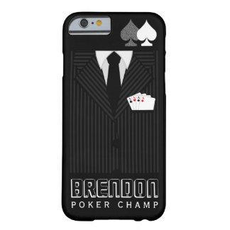 Poker Champ Pinstripe Suit Casino iPhone 6 Case