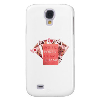 POKER Champion - Art101 Collection Samsung Galaxy S4 Cases