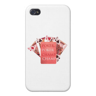 POKER Champion - Art101 Collection Cover For iPhone 4