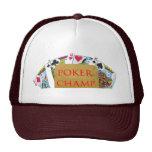 POKER Champion - Art101 Mesh Hats