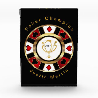 Poker Champion Award