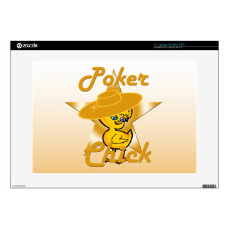 Poker Chick #10 Laptop Decal