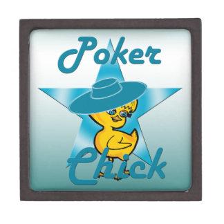 Poker Chick #7 Jewelry Box