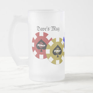 Poker Chip Beer Mug
