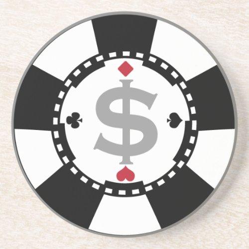 Poker Chip Coaster
