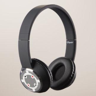 Poker Chip - Grey Headphones