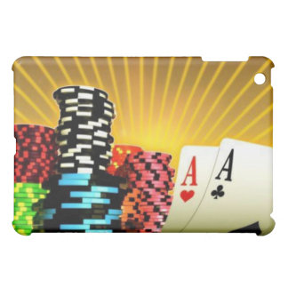 Poker Chips and Playing Cards Case For The iPad Mini