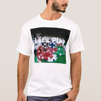 Poker Chips, Cards, and Dice T-Shirt