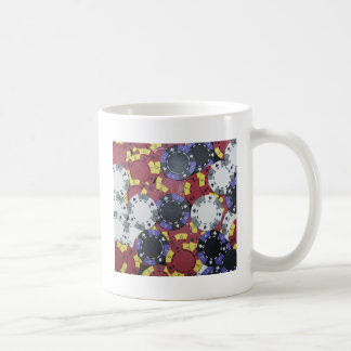Poker Chips Coffee Mug