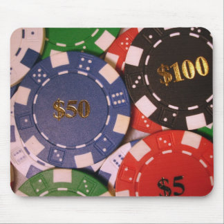 Poker Chips Mousepad