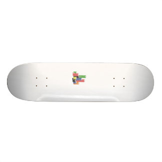 poker chips skateboard