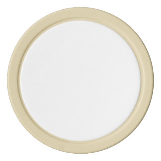 Poker Chips w/ Ivory Solid Edge