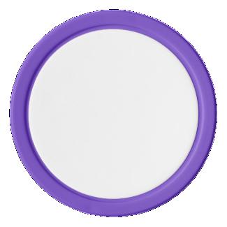 Poker Chips w/ Purple Solid Edge
