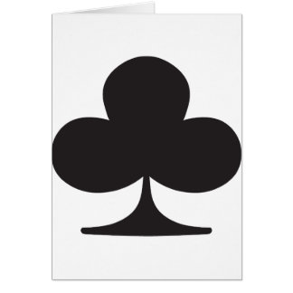 Poker Club Suit Playing Card
