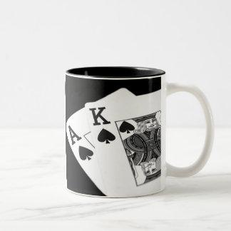 ¡Póker de los naipes soy todo adentro! Taza De Café
