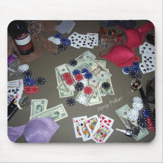 Póker de tira tapetes de raton