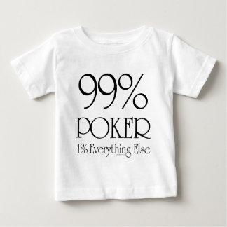 Póker del 99% playera de bebé