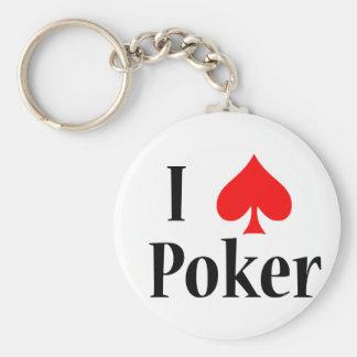 Póker del corazón I Llaveros