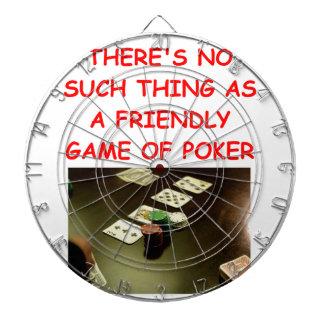 póker tablero de dardos