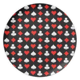Poker Dinner Plate