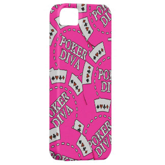 Poker Diva Poker Chips iPhone 5 Case