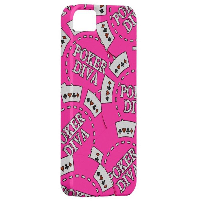 Poker Diva Poker Chips iPhone SE/5/5s Case