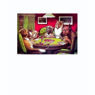 POKER DOGS by C.M. Coolidge - Customized shirt