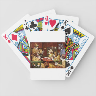 poker dogs.jpeg bicycle playing cards
