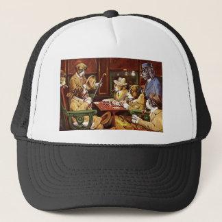 poker dogs.jpeg trucker hat
