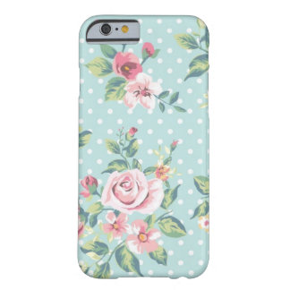 Poker Dot Floral Barely There iPhone 6 Case