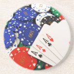 Poker Drink Coaster