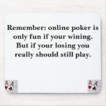 Póker en línea tapete de ratón
