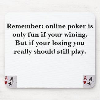 Póker en línea tapetes de raton
