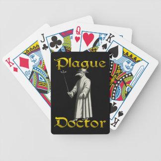 Póker europeo del traje del pico del doctor Roma Baraja