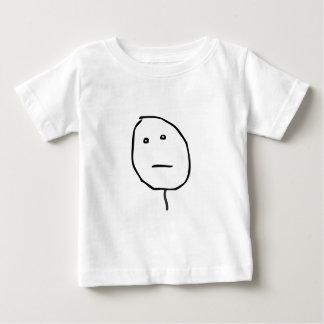 Poker Face Baby T-Shirt