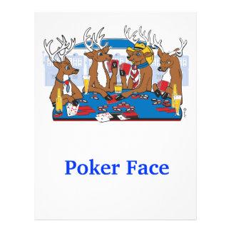 Poker Face Deer Flyer
