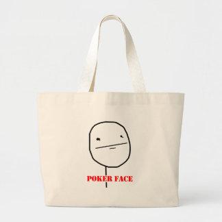 Poker face - meme bag