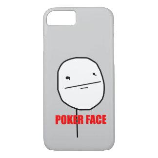 Poker Face Meme iPhone 8/7 Case
