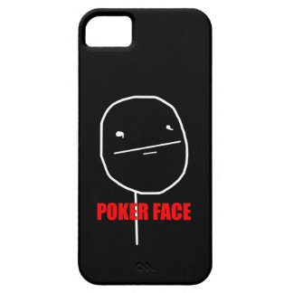Poker Face Meme iPhone SE/5/5s Case
