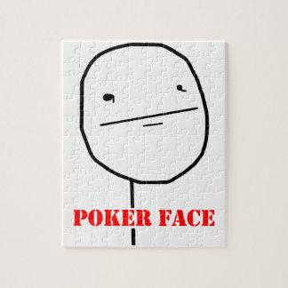 Poker face - meme jigsaw puzzle