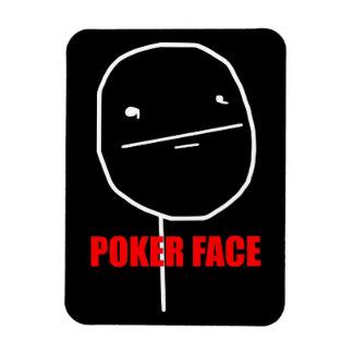 Poker Face Meme Magnet